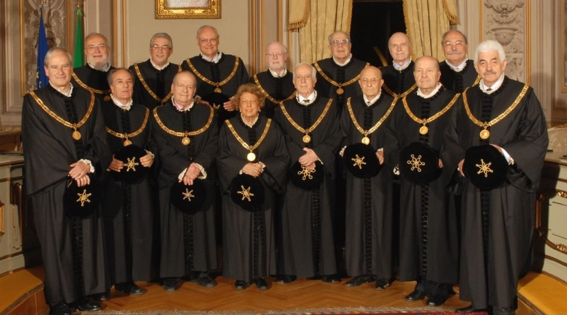 Judges of Italy's Constitutional Court