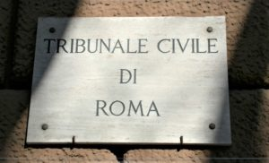 Court Proceeding at Court of Rome