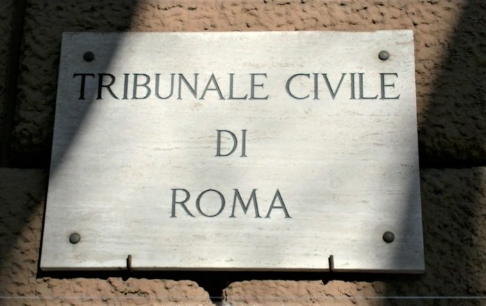 Dual Citizenship Court Proceeding at Court in Rome