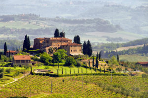 Typical real estate in Tuscany