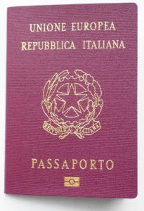 Italian passport and EU passport